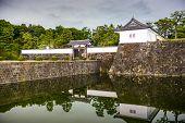 Tokyo, Japan at the Imperial Palace Sakurada-mon Gate.
