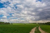 Shining Sunlight Spectacular Cloudscape
