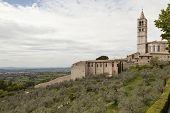 Map of Gubbio. Umbria. Italy