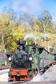 steam train, Steinbach - Johstadt, Germany