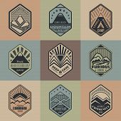 Mount Badge Set1Color1