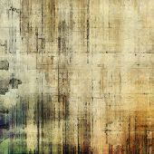 Background in grunge style. With different color patterns: gray; green; brown; yellow