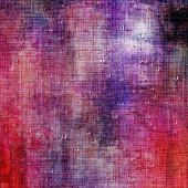 Grunge retro texture, elegant old-style background. With different color patterns: blue; orange; purple (violet); red