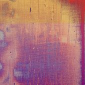 Grunge colorful texture for retro background. With different color patterns: purple (violet); orange; brown; yellow