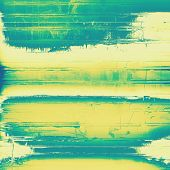 Old abstract grunge background for creative designed textures. With different color patterns: blue; green; yellow