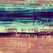 Antique vintage background. With different color patterns: blue; brown; violet