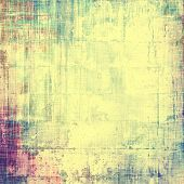 Colorful vintage texture. With different color patterns: green; purple (violet); yellow