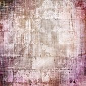 Rough grunge texture. With different color patterns: gray; purple (violet); brown