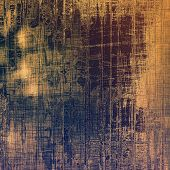 Beautiful vintage background. With different color patterns: blue; brown; yellow