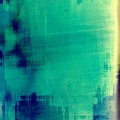 Grunge texture, distressed background. With different color patterns: blue; green; yellow