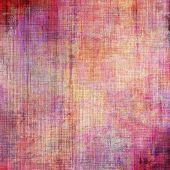 Beautiful vintage background. With different color patterns: purple (violet); red; orange; yellow