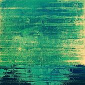 Old grunge antique texture. With different color patterns: blue; green; yellow