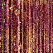 Abstract grunge background with retro design elements and different color patterns: purple (violet); orange; brown; yellow