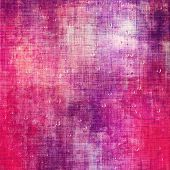 Old texture or antique background. With different color patterns: purple (violet); red; pink