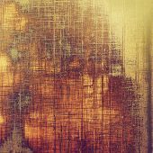 Grunge texture. With different color patterns: orange; brown; yellow