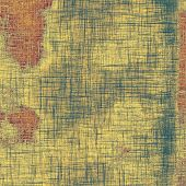 Antique vintage texture or background. With different color patterns: gray; green; brown; yellow