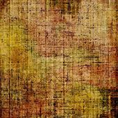 Old ancient texture, may be used as abstract grunge background. With different color patterns: yellow; brown; green