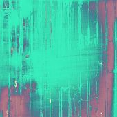 Rough grunge texture. With different color patterns: blue; green; purple (violet)
