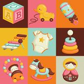 Square Baby Toys