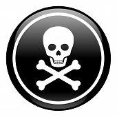 Skull On Button
