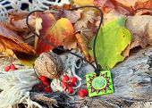 Ethnic Handmade Magic Clay Amulet