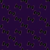 Seamless bow tie seamless pattern on a background.