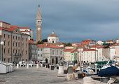 Cloudy Day In Piran