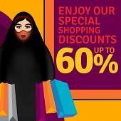 Arab Family - Woman Shopping