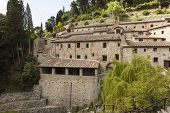 Monastery in Le Celle. Tuscany. Italy