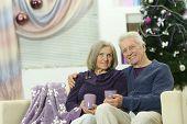 Couple Celebrating New