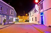 Town Of Koprivnica Center Evening View
