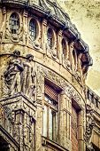 Old Postcard Of One Historical Building. Timisoara, Romania