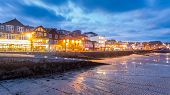 St Ives At Night Cornwall England