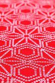 Japanese pattern of kimono fabric