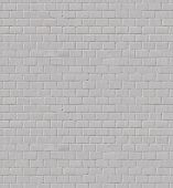 Tileable White Brick Wall