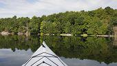 Kayaking On A Tranquil Lake