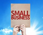 Small Business card with beautiful day