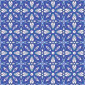 Blue Retro Background