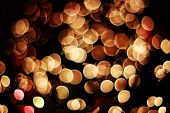defocused bokeh of lights