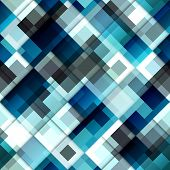 Diagonal geometric pattern with the transparency.
