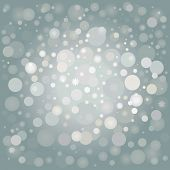 winter silver background