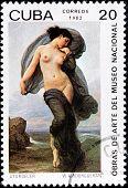 Bouguereau Stamp