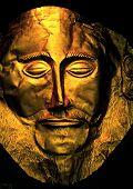 korinthische Totenmaske