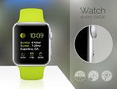 Smart watch isolated