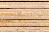Beige Wooden Wall. Background Photo Texture