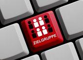 Computer Keyboard Target Group