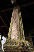 Glass Mosaic Pattern Post Thailand