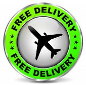 Free Delivery Design Icon