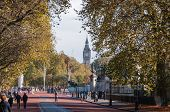 Constitution Hill In London On A Sunny Autumn Day