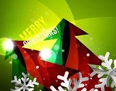 picture of merry chrismas  - Colorful bright Chrismas card - JPG